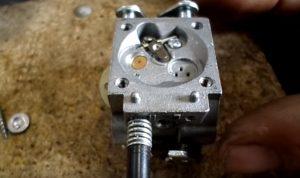 Карбюратор бензопилы устройство