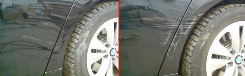 Полировка автомобиля насадками как удалить царапины