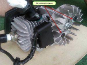 Система зажигания бензопилы