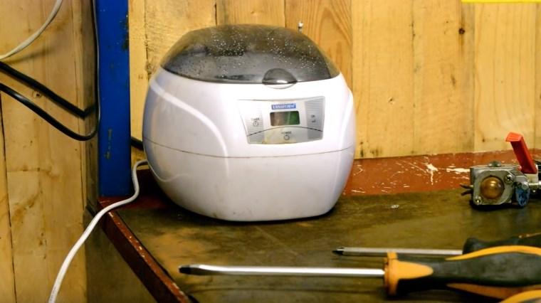 Ультразвуковая ванночка для чистки карбюратора