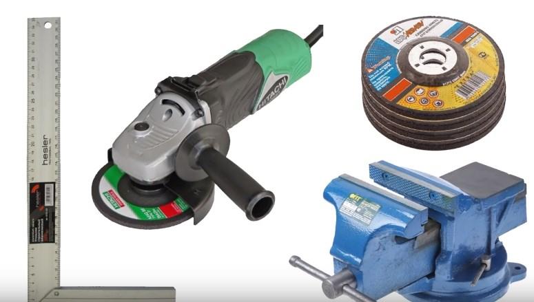 Инструменты для ремонта шины бензопилы