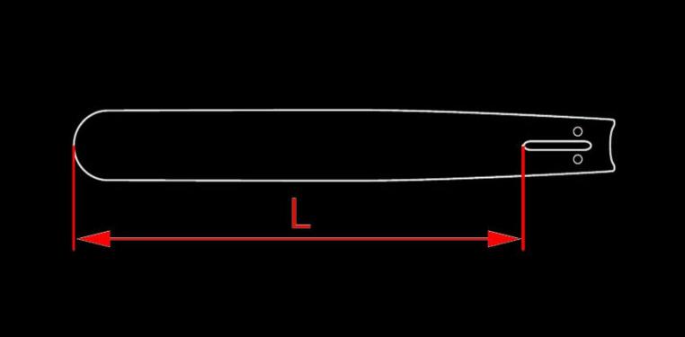 Как измерить длину шины