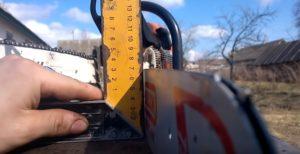 Как проверить шину бензопилы