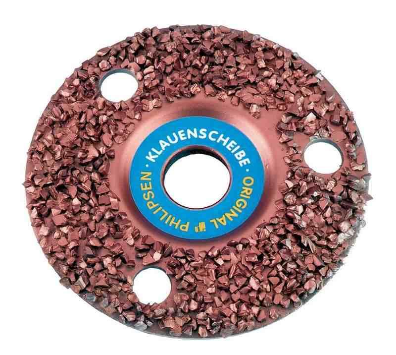 Обдирочный диск с кромкой на УШМ по дереву