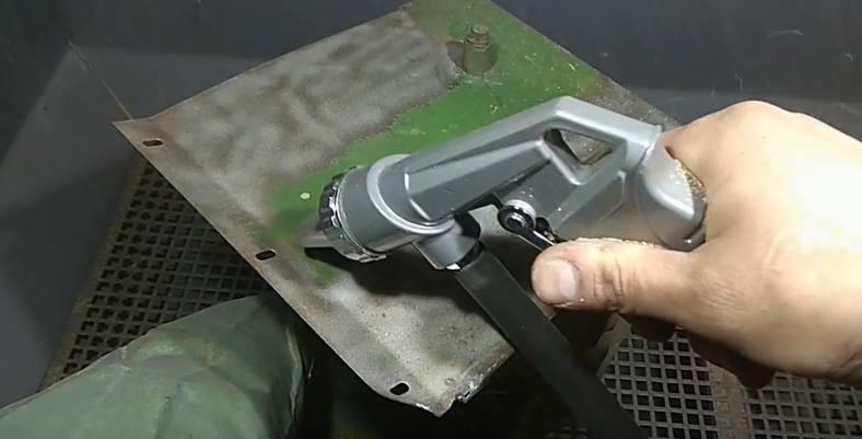 Как пользоваться пескоструйным пистолет