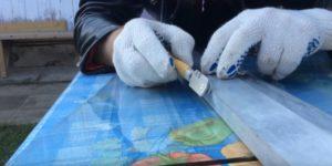 Как правильно резать стекло стеклорезом