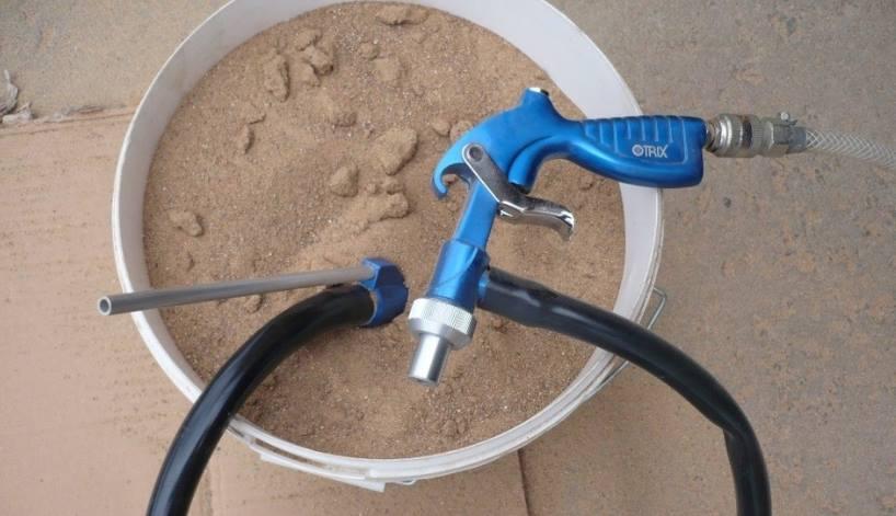 Насадка для компрессора пескоструй