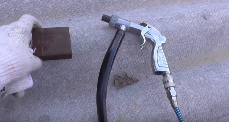 Плюсы и минусы пескоструйных пистолетов
