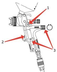 Настройка прибора с манометром цифровым