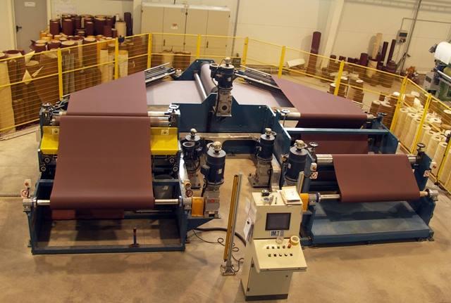 Производство наждачной бумаги