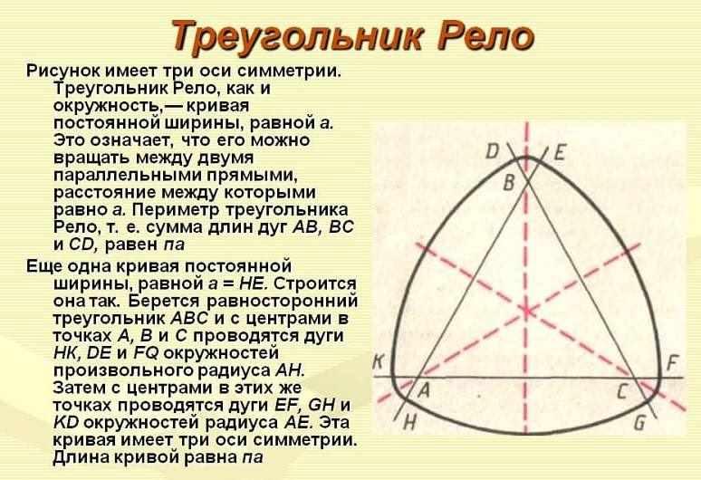 Что такое треугольник Рело