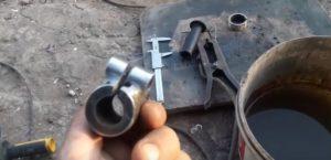 Изготовление хомута для держателя на дрель