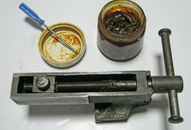 Смазка инструмента