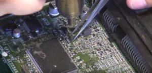 Пайка микроконтроллера