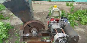 Конструкция бензинового агрегата