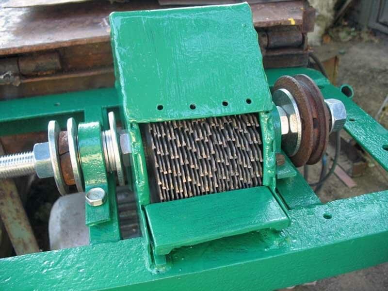 Устройство агрегата из циркулярной пилы