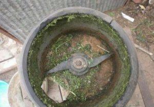 Агрегат из стиральной машинки