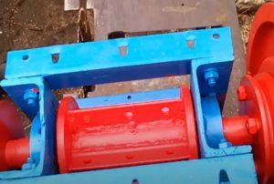 Как сделать барабан для дробилки веток