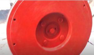 Маховик для бензинового агрегата