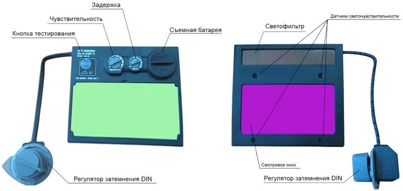 Регуляторы светофильтров