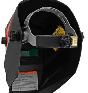 Вид маски сварщика внутри