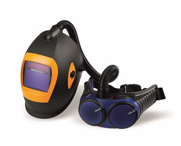 СИЗ с защитой для глаз и подачей воздуха