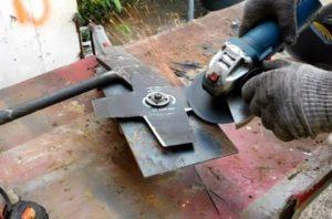 Подготовка ножа к установке