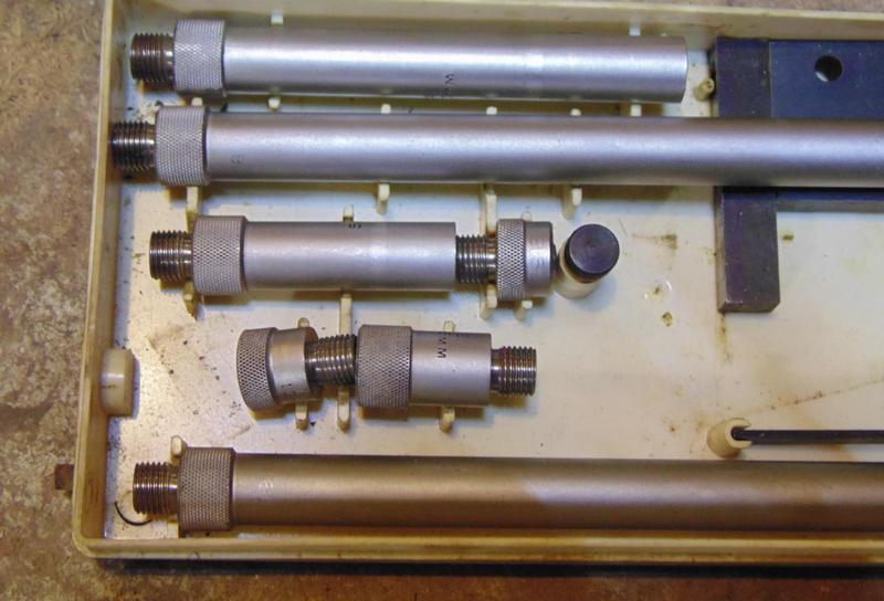 Набор микрометрического нутромера