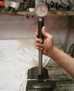Настройка нутромера индикаторного пошагово