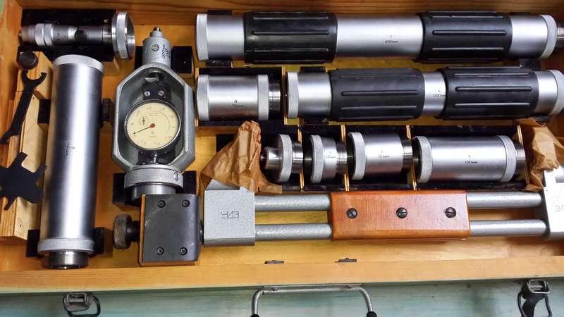 Нутромер микрометрический индикаторный