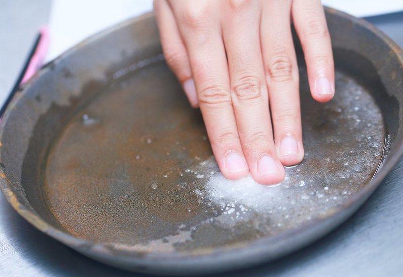 Сода от ржавчины