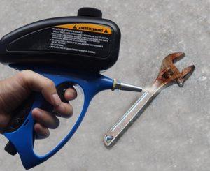 Пескоструйный пистолет от ржавчины
