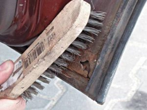 Щетка по металлу от ржавчины