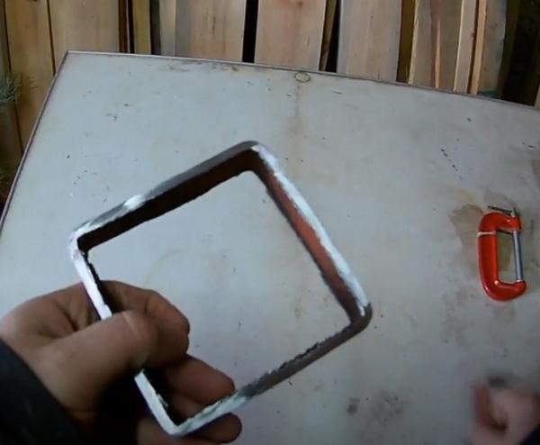 Стальной квадрат заготовка для струбцины
