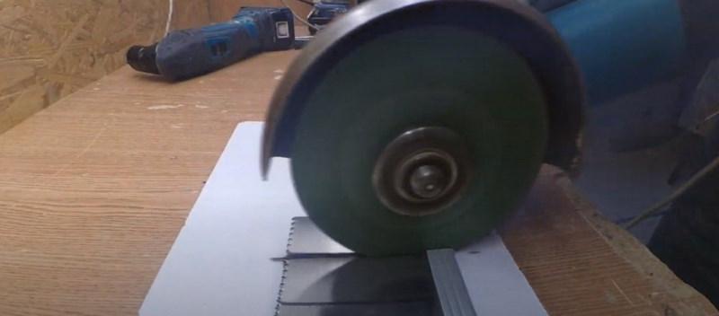 Отпиливание полотна