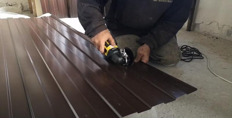 Резка профнастила и листовой стали