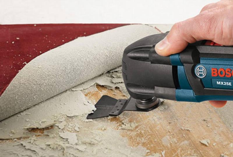 Применение скребков на реноваторе