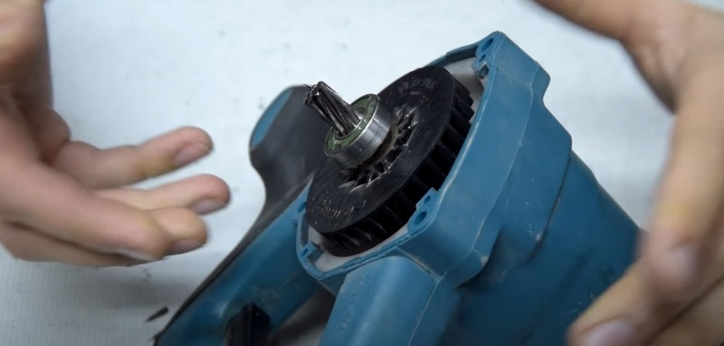 Снятие и замена ротора