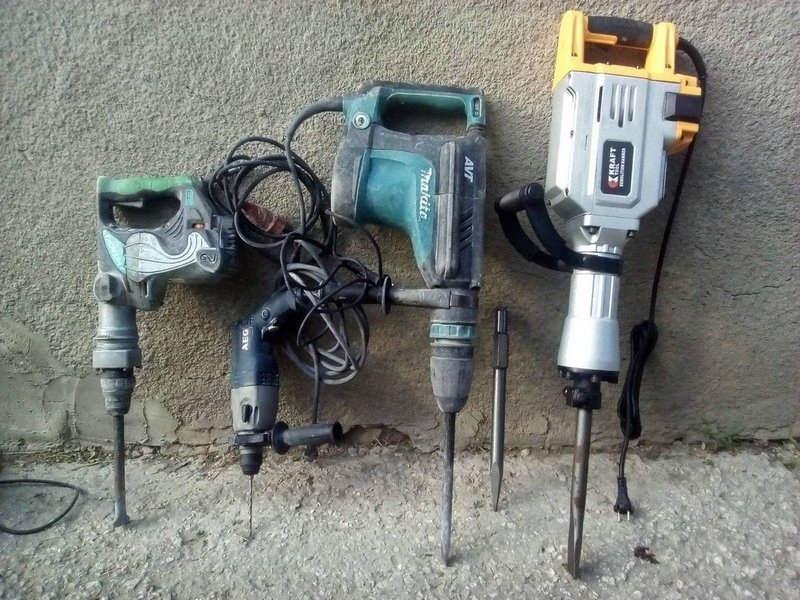 Виды инструментов по размеру