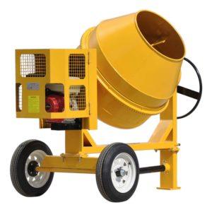 Бензиновая бетономешалка