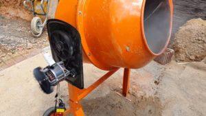 Электродвигатель бетономешалки