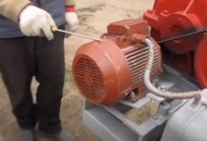 Электродвигатель для дровокола