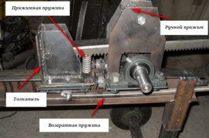 Как сделать реечный дровокол своими руками подробная конструкция
