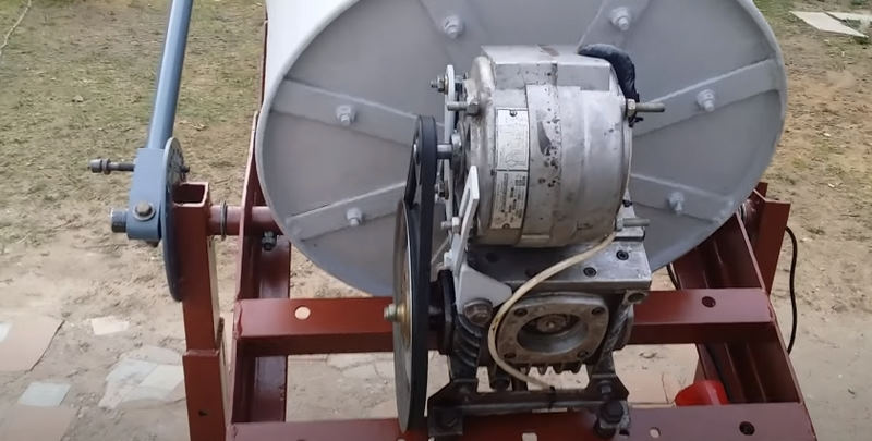 Как выбрать двигатель для бетономешалки
