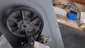 Как заменить ремень бетономешалки