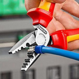 Плоскогубцы для сжатия кабельных наконечников