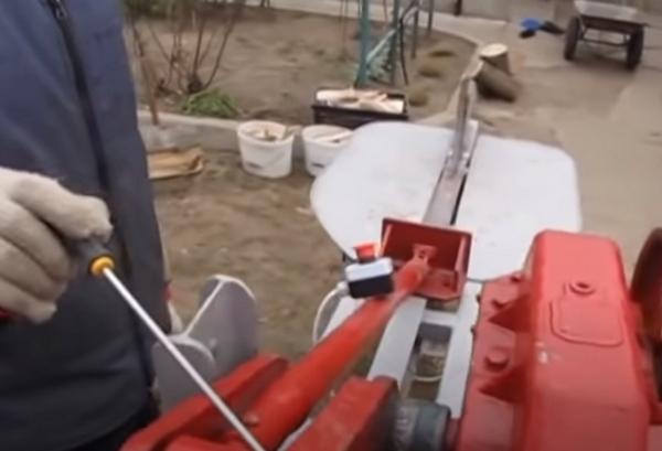 Тяга толкателя дровокола из чего сделать