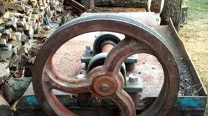 Ведомый шкив для дровокола