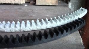 Венец бетономешалки замена