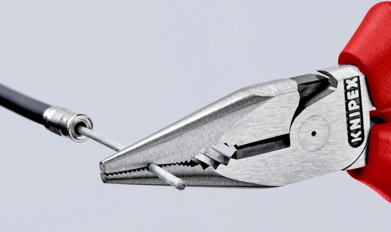 Зафиксировать трос плоскогубцами